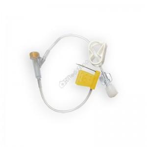Игла Губера (для инфузии), диаметр 20G (0,9 мм), длина 20 мм (бабочка с Y коннектором)