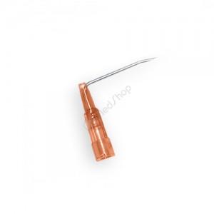 Игла Губера (для промывки), диаметр 19G (1,1 мм), длина 25 мм, изогнутая